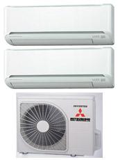 Climatizzatori mitsubishi dual split prezzi